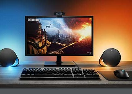 LIGHTSYNC Technology Lights Up New Logitech G Speaker and Keyboard