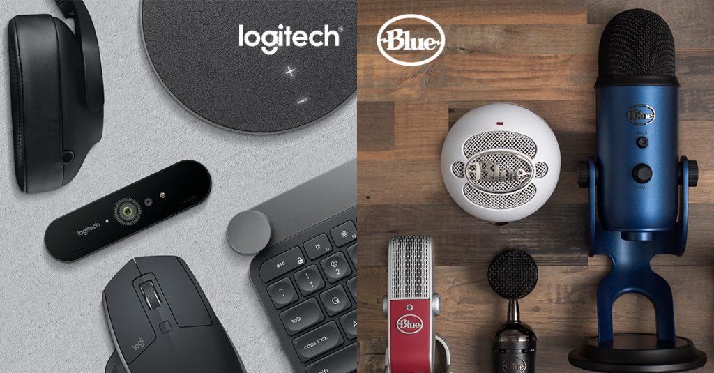 Logitech's Mic'ing Up with Blue   logi BLOG