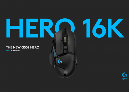 Logitech G502 Gaming Mouse Gets an Upgrade