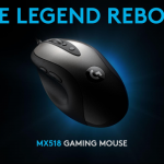 A LEGEND REBORN: CLASSIC DESIGN MEETS UNRIVALED TECHNOLOGY IN THE LOGITECH G MX518
