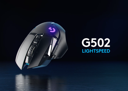 Play at LIGHTSPEED — Presenting the Logitech G502 LIGHTSPEED Wireless Gaming Mouse
