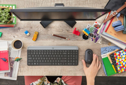 Boost Your Creativity with New Modern Mouse and Keyboard Combo from Logitech