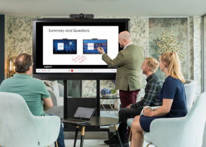Logitech and Avocor Team to Deliver Zoom Rooms for Touch