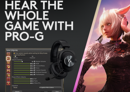 KEEP PLAYING in Final Fantasy XIV with new PRO-G and LIGHTSYNC Integrations