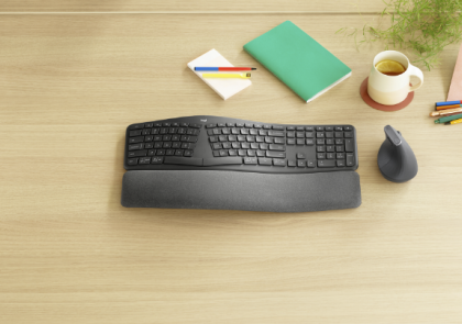 Natural Typing Experience, Uncompromised Productivity: Introducing the Logitech ERGO K860