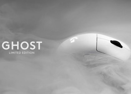 "Logitech G Unveils ""GHOST"" Limited Edition PRO Wireless Mouse for Charity"