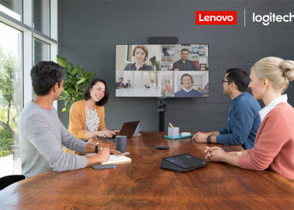 Logitech and Lenovo Team Up to Deliver Enterprise-Ready Meeting Room Solutions