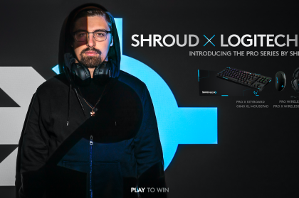 Logitech G and Shroud Collaborate On Special Edition PRO Gaming Gear