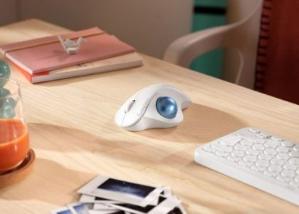 Maximize Comfort and Save Space with Logitech's New Sculpted Ergonomic Trackball