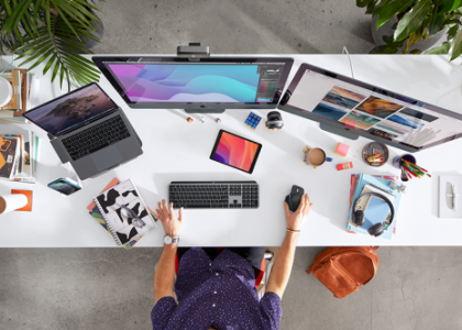 Adobe and Logitech Celebrate The Master Series by Logitech with a Gift of Adobe Creative Cloud
