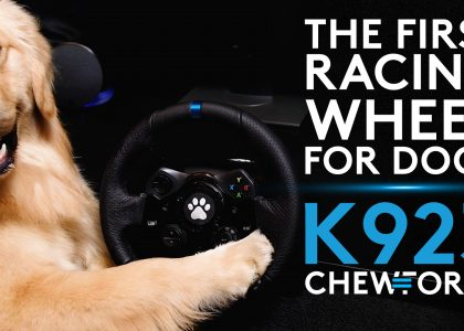 Introducing the K923: The First Racing Wheel for Dogs with CHEWFORCE Technology