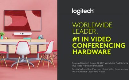 Logitech Video Collaboration Takes the Lead