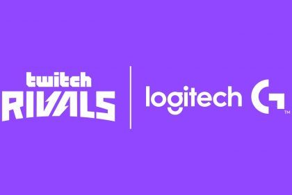 Logitech Becomes the Official Peripherals Partner for Twitch Rivals Europe