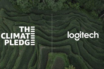 Logitech is a Proud Signatory of The Climate Pledge